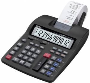 Strimmelregner Casio HR-200TEC euro+tax 12-cifret display
