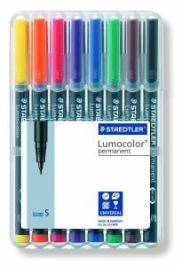 OHP-pen Lumocolor ass S 0,4mm 313WP-8 permanent