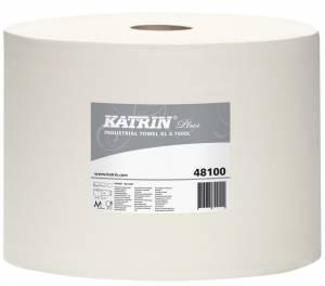 Aftørringspapir Katrin P. XL4 HVID (481009) 4-la Ø36cm 26,5cmx360m -  pr. stk
