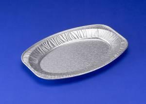 Cateringfad 29x43x2,5cm præget mellem oval - 10stk/ps