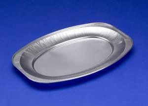 Cateringfad 25x35x2,1cm glat lille oval - 10stk/ps