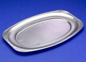 Cateringfad 55x36x2,2cm glat stor oval - 10stk/ps