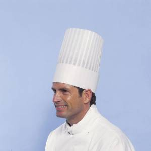 Kokkehuer Le Grand Chef Non-woven 25cm 10stk/pak