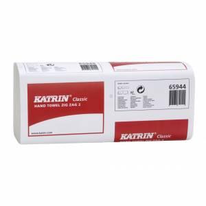 Papirhåndklæde Katrin C Zig Za 2-lags, 23cm, 3000ark 65944