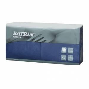 Servietter Katrin Fasana 25x25cm 3-lags blå - 4x250stk