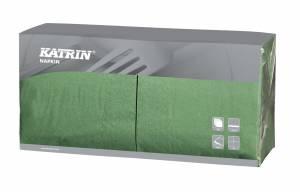 Servietter Katrin Fasana 33x33cm 3-lags grøn - 4x250stk