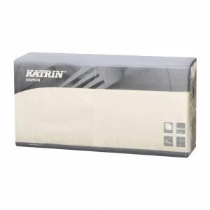 Servietter Katrin Fasana 40x40cm 3-lags creme - 4x250stk