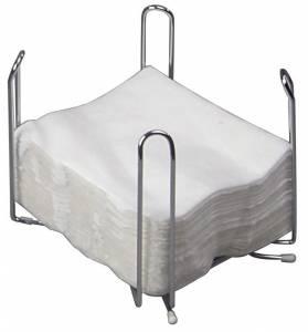 Servietstativ metal til 33x33cm 1/4-fold 1st/pkt