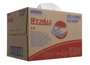 Aftørringsklude WypAll X70 hvid 150ark/pak 8383 Workhors