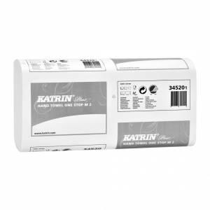 Papirhåndklæde Katrin Plus OneS 2-lags 25cm 3024ark/kar 345208