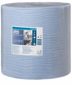 Aftørringspapir Tork Plus W1 Prem. 2-lags Blå 1500ark (130050) 1rul