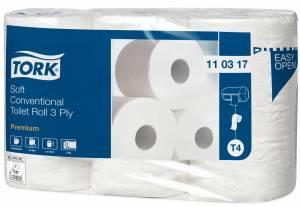 Toiletpapir Tork Premium 3-lag 35m (110317) - 42rul/pak