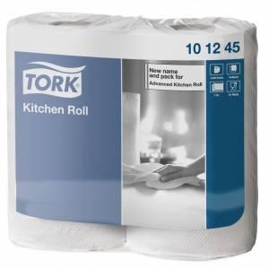 Køkkenrulle Tork Plus K1 2-lags 39,2m Ekstra lang (101245) 14rul/ka
