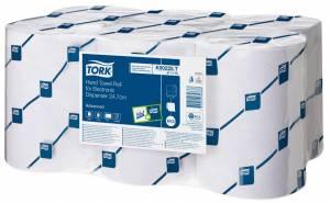 Håndklædeark Tork enMotion H13 2-lag Ø19,3cm 24,7cmx143m - 6rl
