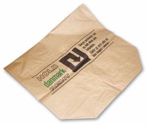 Affaldssække vådstærk papir 700x950x250mm 2-lags brun - 50stk/pak