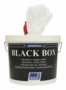 Håndrenseservietter DEB Black Box (1675)  - 150stk/sp
