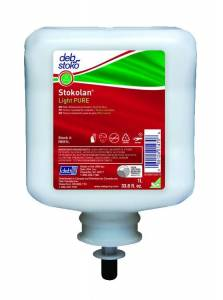 Hudplejecreme DEB Stokolan Light PURE (RES1L) - 1 Ltr patron
