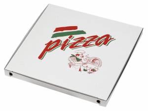 Pizzaæske 60x60x5cm neutralt tryk - 50stk/pak