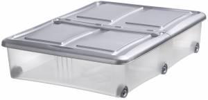 Bedrollerbox Smart Store grå L:78xB:59xH:18,5cm