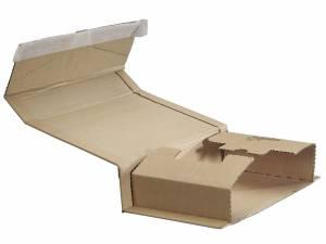 Bogpack m/limlukning 20.08 302x215x10-80mm brun