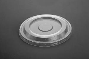 Låg t/salatskål (271095) dome PP klar - 100stk/pak