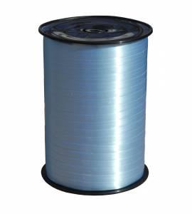 Gavebånd glat lys blå 10mmx250m nr. 14