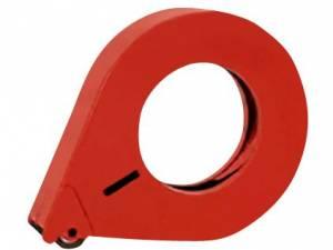 Tapedispenser metal EAN 1-25 25mm lukket håndholdt