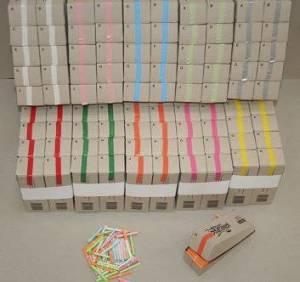 Kinesisk lotteri rød 200numre/pak