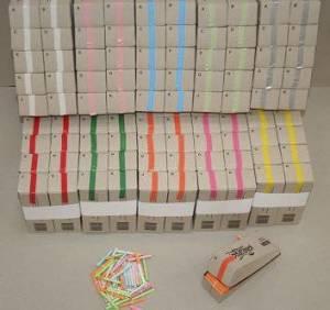 Kinesisk lotteri rosa 200numre/pak