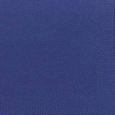 Servietter Duni Tissue 3-lags 24x24cm mørkeblå - 2000stk/kar
