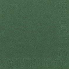 Servietter Duni Tissue 3-lags 24x24cm Mørkegrøn - 2000stk/kar