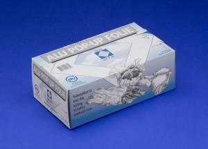Stanniol / Aluminiumsfolie pop-up, 23x27cm - 500stk/pak
