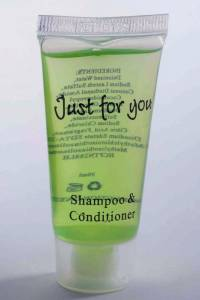 Shampoo/Conditioner 20ml tube 100stk/kar Just for you