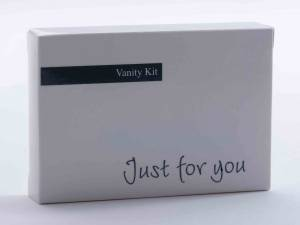 Vanity kit, Just for you i karton - 500stk/kar