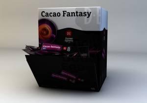 Chokoladedrik Fantasy 22g 100stk/kar cacao