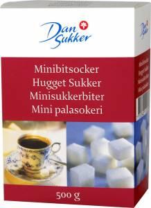 Hugget Sukker Krystal løstpakket - 16x500g/kar (8,0 Kg)
