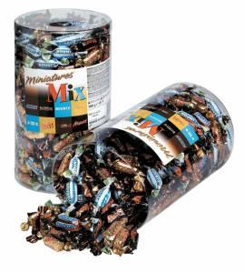 Chokolade Mars miniature mix 3 kg /ds 296 stk.