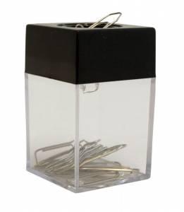 Clipsholder magnetisk sort/klar
