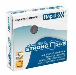 Hæfteklamme KOBBER 24/8 Rapid Strong - 2000/stk/pak