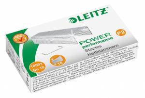 Hæfteklammer Leitz Power Performance  P2 No 10 - 1000stk/pak