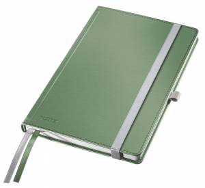 Notesbog Leitz Style A5 Hardcover linjeret 80 ark - GRØN