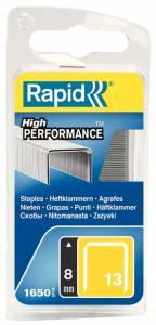 Hæfteklammer Rapid 140/6 1600stk/æsk blister