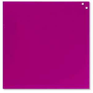 Glastavle Naga magnetisk 45x45cm pink
