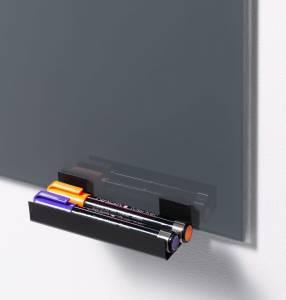 Penneholder Naga t/glastavler sort metal
