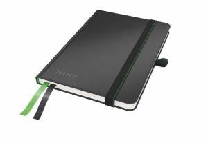 Notesbog Leitz Complete A6 linjeret 96 g 80 ark - SORT