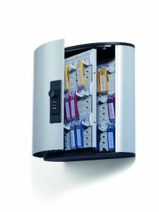 Nøgleskab Durable Keybox 36 alu til 36 nøgler kodelås