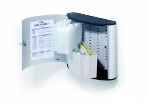 Førstehjælpsskab Durable m/indhold M First aid box alu
