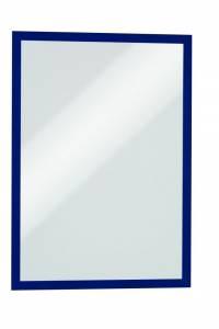 Selvklæbende magnetisk DURAFRAME® A3 Blå - 2 stk/pk
