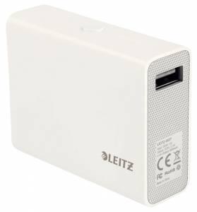 Leitz Complete USB Powerbank 6000mAh  - Hvid