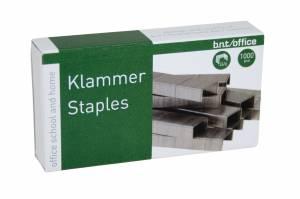 Hæfteklammer bnt/Office 24/6 stål 1000stk/pak